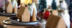 Gingerbread House Decorating Party | kids graham cracker holiday houses