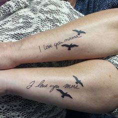 25 Parent-Child Tattoo Ideas That BOTH Of You Will Love. - http://www.lifebuzz.com/parent-tattoos/