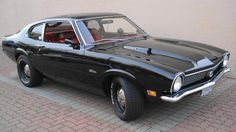 1970 Ford Maverick Grabber Fastback. Find parts for this classic beauty at http://restorationpartssource.com/store/