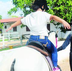 Estudo de fonoaudióloga conclui que o cavalo exerce papéis importantes para pacientes com autismo  Levantamento realizado com crianças mostrou que animais podem atuar como agentes terapêuticos transformadores