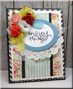 Card by Vickie Z. using Verve Stamps.  #vervestamps