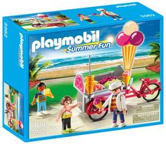 PLAYMOBIL Ice Cream Cart - http://www.kidsdimension.com/playmobil-ice-cream-cart/