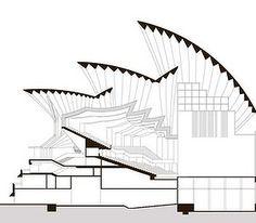 sydney opera house section - Google Search