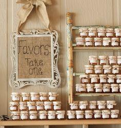 Honey favors.