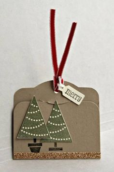A Christmas tag (SUO) by ReginaBD - Cards and Paper Crafts at Splitcoaststampers