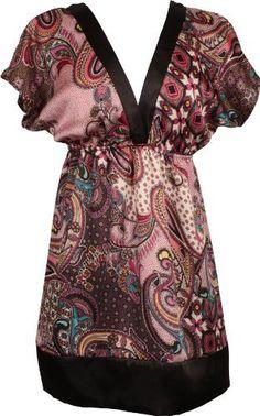 Floral Satin Kimono Top PacificPlex. $19.99