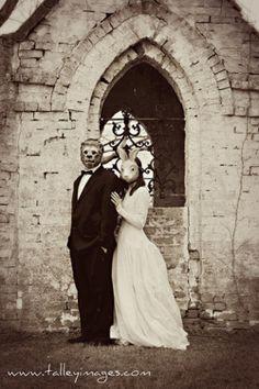 Hauntingly beautiful wedding photo   talleyimages