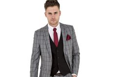 Trend Alert- Checked Suits
