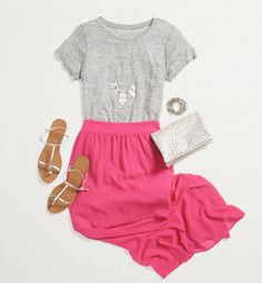 GET YOUR BOX! Try out Stitch Fix. 2018 style trends for your Stitch Fix board. Dear Stitch fix stylist these are fashion trends I would like to see in my next fix! Stitch Fix Blog, Stitch Fix Stylist, Easy Stitch, Skirt Outfits, Casual Outfits, Cute Outfits, Work Outfits, Summer Outfits, Cute Fashion