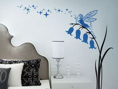 Bell Flower Fairy Wall Decal by Wallistickers on Etsy, $69.00