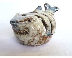 Shark Candle Holder Ceramic by Florida Gifts -- Read more reviews of the product by visiting the link on the image.