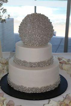 New year's wedding cake - by lostincakes @ CakesDecor.com - cake decorating website