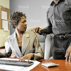 Workplace harassment stock photo 25320896 - iStock