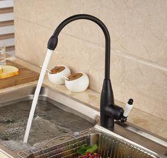 15 best oil rubbed bronze kitchen sink faucet images bronze rh pinterest com