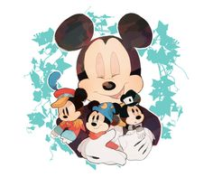 mickey mouse y Mickey Mouse And Friends, Mickey Minnie Mouse, Disney Mickey, Disney Art, Walt Disney, Disney And Dreamworks, Disney Pixar, Disney Characters, Disney Dream