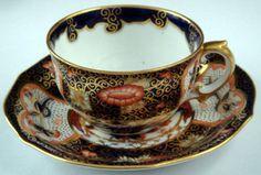 Royal Crown Derby Imari Tea Cup & Saucer