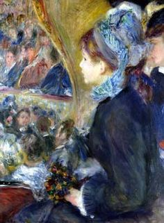 At the Theatre ~ Renoir                                                       …