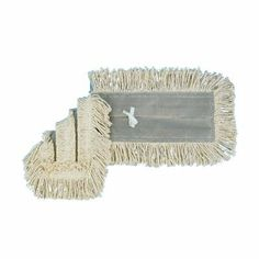 Disposable Dust Mop Head with Sewn Center Fringe - Cotton/Synthetic, 24w x5d, White(sold in packs of 3) by Unisan. $21.83. Disposable Dust Mop Head with Sewn Center Fringe - Cotton/Synthetic,  24w x5d,  White(sold in packs of 3)