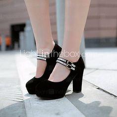 la plataforma de las mujeres del gato francis zapatos de tacones altos - EUR € 21.99