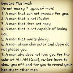 Remember you, Muslimah :)