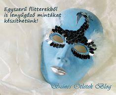 venetian mask Venetian Masquerade, Metallica, Techno, Creative, Blog, Masks, Party Ideas, Lingerie, Diy