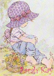 by Sarah Kay Sarah Key, Holly Hobbie, Cute Images, Cute Pictures, Creative Pictures, Coloring Books, Coloring Pages, Illustrations, Illustration Kids