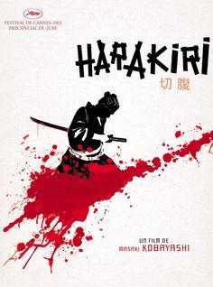 Réalisé par Masaki Kobayashi (1962) Japanese Film, Japanese Art, Samurai Artwork, Film Theory, Japanese Warrior, Film Posters, Great Movies, Movie Tv, Anime