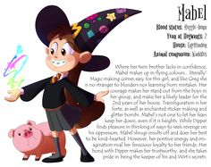 Caerulus Ignus - Year 2 Mabel, (Hogwarts, Gravity Falls, Over The Garden Wall, Done by KicsterAsh)
