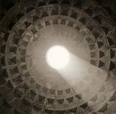 Isabel Muñoz, 'The Pantheon', Rome Light coming thru the occulus of the Pantheon Good Thoughts About Life, Camera Obscura, Famous Photographers, Roman Catholic, Architecture, Light In The Dark, Rome, The Good Place, At Least