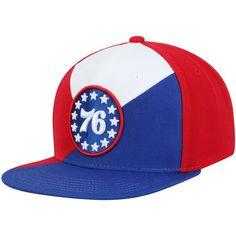 10f9efcd Men's Philadelphia 76ers Mitchell & Ness Red/Blue Quadriga Adjustable  Snapback Hat, Your Price: $31.99