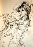 hình xăm geisha 4