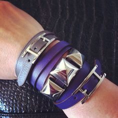 a736bf945f04 Hermes Medor Scarf rings on leather bracelets! Gotta try this! Hermes Scarf  Ring,