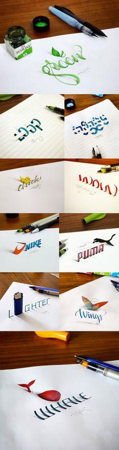 Tolga Girgin, art, illustration, typography, 3D