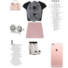 A fashion look from January 2016 by ale-needam featuring Alice + Olivia, Michael Kors and Chamilia