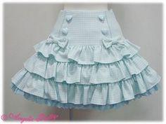 Candy Girl Skirt by Angelic Pretty Gyaru Fashion, Kawaii Fashion, Lolita Fashion, Cute Fashion, Kids Fashion, Baby Skirt, Baby Dress, Little Girl Skirts, Baby Girl Dress Patterns