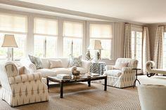 calming color palette, seating arrangement