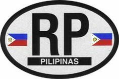"""Philippines - Oval Decal by Flagline. $2.25. 2.25"""" x 4"""" oval decal. Reflective auto decals measuring 2.25""""x4"""""""
