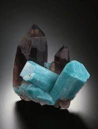 amazonite and Smokey quartz