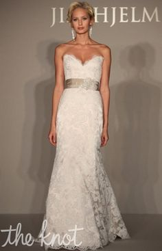 Gown Slideshows: NEW! Jim Hjelm: Spring 2012 : Jim Hjelm from The Knot