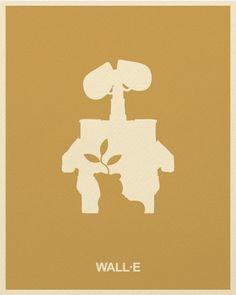 WALL-E 2008 minimalist poster