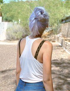 this lilac hair.