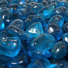 Ocean Blue Eco Glass Fire Glass