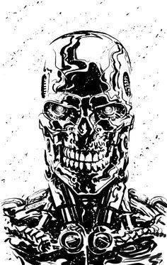 Terminator - Judgement Day by Francesco Biagini