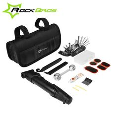 Check out this product on Alibaba.com APP ROCKBROS 16 in 1 Multifunctional Portable Bike Bicycle Repair Tool Kit with Mini Pump