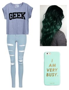 """""""School outfit"""" by mikayla714 on Polyvore featuring Topshop and ban.do"""