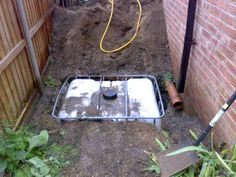Underground Rainwater Storage in an IBC With Pumped Supply : 4 Steps (with Pictures) - Instructables Mdr Garten, Water Collection System, Rain Collection, Water From Air, Rainwater Harvesting System, Water Storage, Water Conservation, Water Tank, Backyard Landscaping