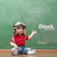 #Baby#pilot#babypilot#aviator#hat#boy#cute#pilothat#blackboard#istock#selimaksan#aliaksan#