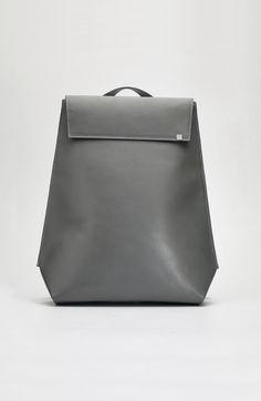 Minimal Backpack - chic style, minimalist bag // Agnes Kovacs