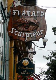 PHOTO ENSEIGNE SCULPTEUR Pub Signs, Shop Signs, Blade Sign, Street Signs, Hanging Signs, Restaurant Design, Retro, Signage, Lanterns