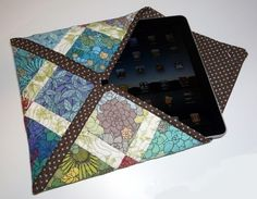 Quilted iPad Bag